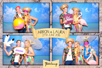 The Photo Lounge // Laura & Arron's Beach Party // 27.06.15
