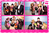 The Photo Lounge // L'Oreal Christmas Party 2013 // 04.12.13