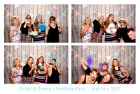 The Photo Lounge // Dylan & Emma's Wedding Party // 16.07.2017