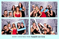 The Photo Lounge // Health-On-Line Christmas Party // 18.12.2015